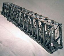 170' HOWE TRUSS THROUGH BRIDGE O Scale Standard Gauge Railroad Wood Kit HL104O