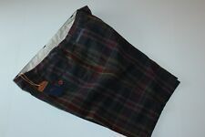 Tommy Bahama Shorts Clubhouse Plaid Ink Blue T89275 New 34 Waist