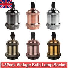 1/4/6 Pack Vintage Lamp Holder Socket E26 E27 Pendant Light DIY Industrial Decor