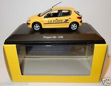 NOREV PEUGEOT 206 1998 POSTES POSTE PTT 1/43 in luxe BOX