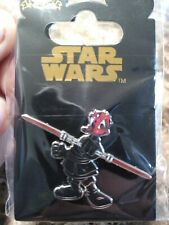2008 Disney Star Wars Donald Duck as Darth Maul Pin With Packing