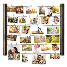 Picture Frame Collage for Multi Photo Display Wall Decor Weathered Grey NEW