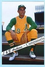 12x18 BERT Campy CAMPANERIS A's 1967 Color photo White Shoes poster