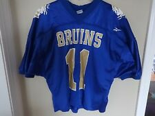 "Vintage Reebok Game Used ""Bruins"" # 11 High School Football Jersey Men XL"