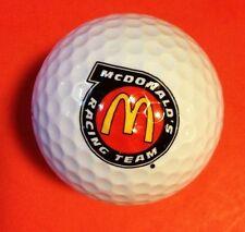 McDonald's Auto Racing Team Top Flite XL Golf Ball Vtg NASCAR Bill Elliott Logo