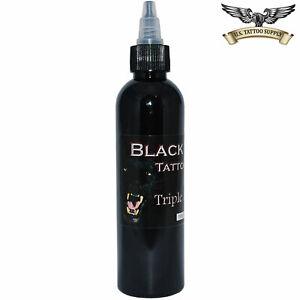 Black Tiger Tattoo Ink 2oz - Triple Black