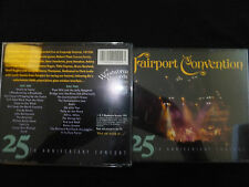 RARE 2 CD FAIRPORT CONVENTION / 25 TH ANNIVERSARY CONCERT /