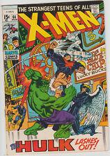 X-Men 66 LAST ORIGINAL TEAM vs HULK 1970 VF Uncanny DEADPOOL Wolverine Blu Ray