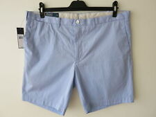 RRP £89.50 Polo Ralph Lauren Light Blue Casual Shorts Size W42 3XL Slim Fit NEW