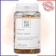 Belle&Bio - Huile de Nigelle - 120 capsules - 2000 mg - Défenses Naturelles