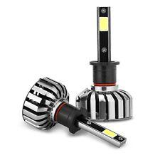 Pair H3 CREE LED 100W 10000LM Headlight Kit Lights Beam Bulbs 6000K High Power