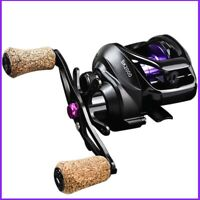High Speed Fishing Spinning Reel 7.2:1 Gear Drag Baitcasting Hand Reel Tackle