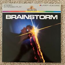 Brainstorm Laserdisc - RARE SCI-FI