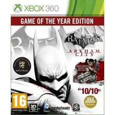 Batman Arkham City Game of the Year Edition GOTY Jeu XBOX 360