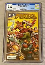 Masters of the Universe #1 CGC 9.6 Wrap-Around Gold Foil Edition / Image Comics