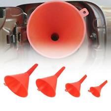 4PCS Plastic Different Size Funnel Set Kitchen Cooking Garden Fuel Oil Auto Tool