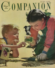 Woman's Home Companion Vintage Ladies Magazine May 1949 Carter Paper Dolls