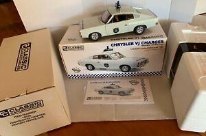 Classic Carlectables Chrysler VJ Charger Highway Patrol Vehicle. Ltd Ed.1:18