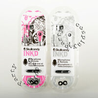 Skullcandy Ink'd In-Ear Buds Earbud w Mic & Remote Headset Headphones Earphone