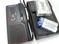 Sony M-727V Pressman MicroCassette Voice Recorder Dictaphone Dictation Machine