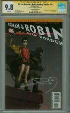 ALL STAR BATMAN AND ROBIN 10 CGC 9.8 SIGNED FRANK MILLER RECALL VARIANT OBSCENE