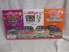 Dale Earnhardt Jeff Gordon Terry Labonte Nascar Kelloggs Racing Cereal Box Set