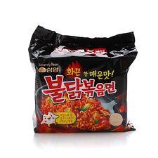 5ea Samyang Spicy Chicken Stir Noodle (Buldak Bokkum Myeon) Korean Instant Food