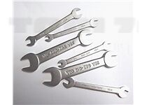 6 PIECE (12 SIZES) BA OPEN ENDED MIDGET SMALL SPANNER / WRENCH TOOL SET