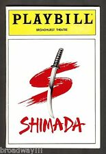 "Ben Gazzara ""SHIMADA"" Ellen Burstyn / Estelle Parsons 1992 FLOP Opening Night"
