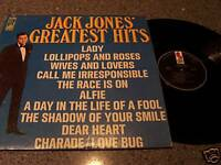 "Jack Jones ""Greatest Hits"" KAPP LP KS-3559"