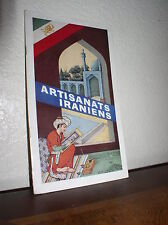 Artisanats Iraniens (PB,1958,By Ministry of Trade & Prints, Iran,In French)