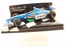 Minichamps Benetton Playlife B199 #10 Wurz neuf 1/43