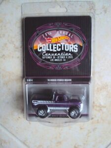 VLE Hot Wheels 29th LA Collector's Convention '70 Dodge Power Wagon #0018/2000