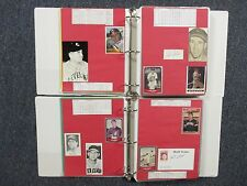 Indians(2 Notebooks/225 Pages/100 Autographs/330 Players/Many Obits/BOB  FELLER)