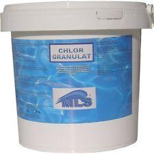 Schockchlor CHLORGRANULAT  10 kg frische Ware - 60% Chlorgehalt Poolchlor Chlor