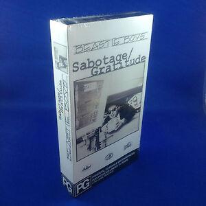 BEASTIE BOYS: Sabotage/Gratitude (EXTREMELY RARE 1994 VHS PROMOTIONAL TAPE)