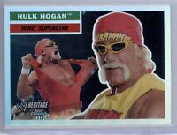 2006 Topps Chrome WWE Heritage Hulk Hogan #12 Refractor SP RARE!