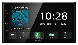 Kenwood DMX5020DABS Doppel-DIN MP3-Autoradio Touchscreen Bluetooth DAB USB Carpl