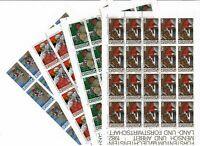 S30919) Liechtenstein 1982 MNH Definitives, Professions 4v Ms SFR 60,00