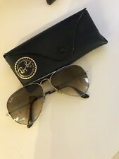 Authentic Ray-Ban Aviator Sunglasses RB3025 004/51 58 Brown Gradient