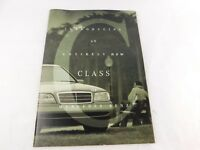 Vintage Original Mercedes-Benz - C220 C280 C-Class Sedan 1993 1994 Brochure