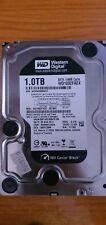"WD CAVIAR BLACK 1TB HDD SATA 3,5"" Disco duro interno PERFECTO ESTADO"