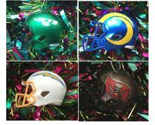 NFL Fútbol Americano Mini Casco Árbol De Navidad Decoración-Elige Tu Equipo