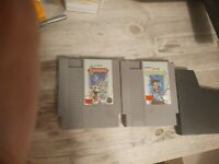 NES 2 game lot Castlevania 1 & 2 (Authentic Nintendo NES)W/sleeve Tested 9/14/20