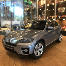 KYOSHO 1/18 BMW X6 ACTIVE HYBRID SUV BLUE WATER METALLIC 08763BW