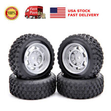 US 4Pcs Rally Tires&Wheel 12mm Hex For HPI HSP RC 1:10  Scale On Road Racing Car