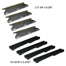 Jenn Air Gas Grill Repair Kit Replacement Grill SS Heat Plate and Burner - 4 Pk