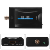 HD 1080P/720P BNC to HDMI Video Converter Adapter for Camera/CCTV/Game Console