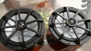 "Kicker KM8 8"" Marine Speakers with 1"" Tweeters (pair)"