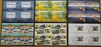 BRD Bund Block 69,72,74,75,77,78 postfrisch oder gestempelt ESST Bonn,Berlin,Wei